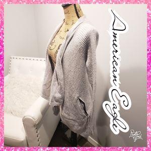 Cardigan sweater jacket medium winter American Eag